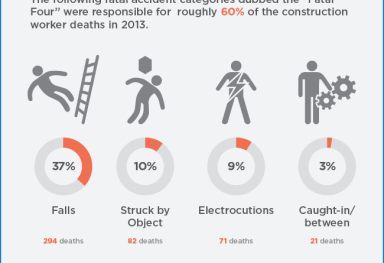 OSHA Worker Fatalities Infographic
