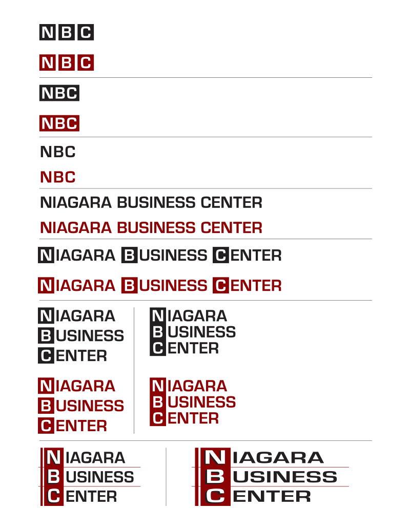 Niagara Business Center logos