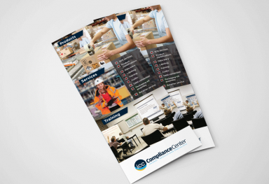 ICC Compliance Center Tri-fold Brochure