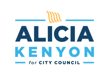 Alicia Kenyon for City Council Identity Design