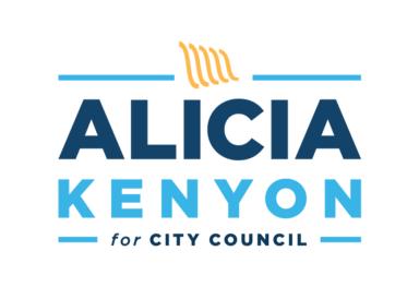 Alicia Kenyon for City Council Identity Design