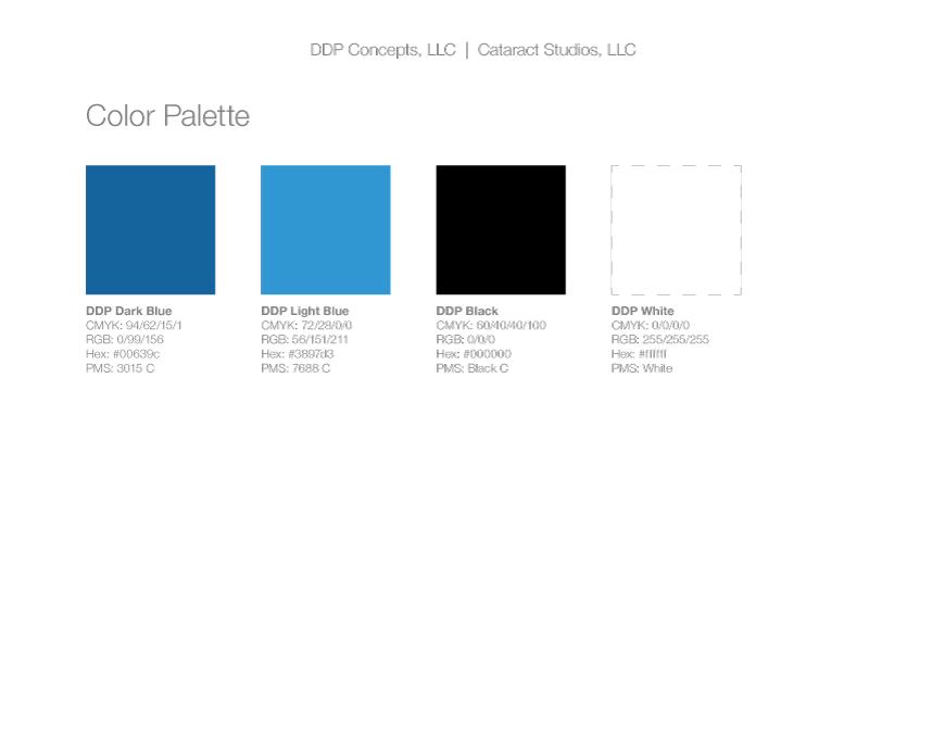 DDP Concepts color palette