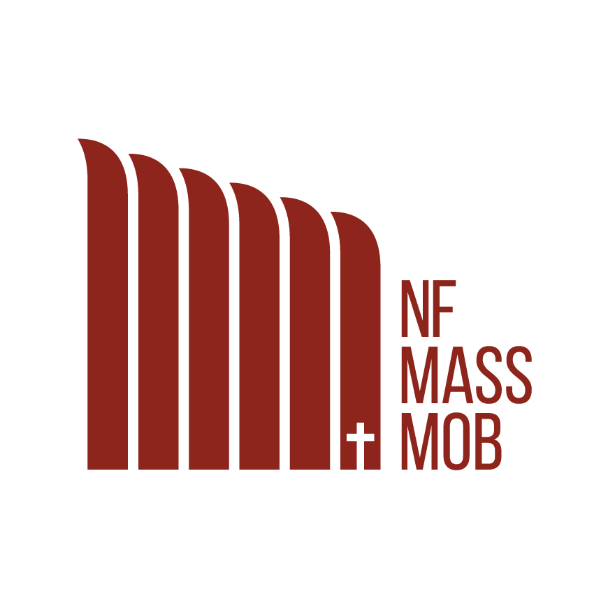 Niagara Falls Mass Mob Horizontal combination mark